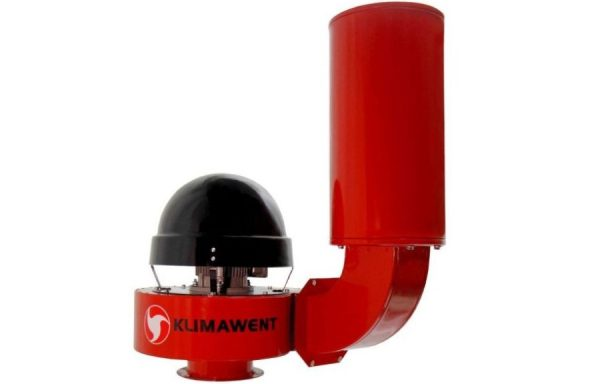 Stoginiai – sieniniai ventiliatoriai su vertikaliu triukšmo slopintuvu WPA-D-N, Klimawent