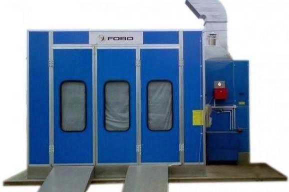 Universalios standartinės dažymo džiovinimo kameros FOBO