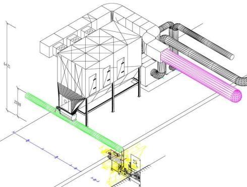 Pneumo transporto sistemų projektavimas