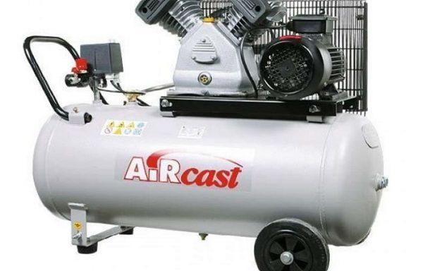 Stūmokliniai kompresoriai su diržine pavara 1,5 kW ir 2,2 kW el. varikliais