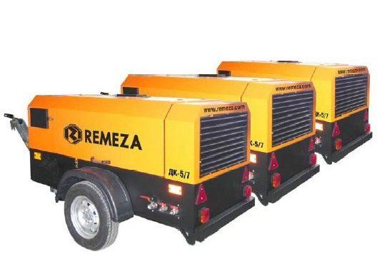 Mobilūs sraigtiniai kompresoriai su DEUTZ dyzeliniais vidaus degimo varikliais