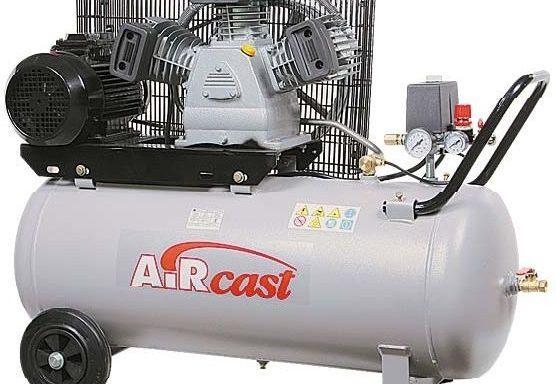 Stūmokliniai kompresoriai su diržine pavara 3 kW el. varikliais
