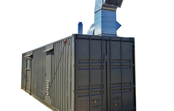 Baldinė dažymo džiovinimo kamera – konteineris