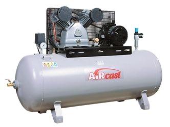 Stūmokliniai kompresoriai su diržine pavara 4,0 kW el. varikliais